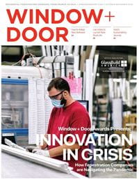 Window and Door Magazine Innovation in Crisis Cover