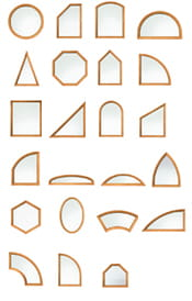Andersen 400 Series Specialty Windows Shapes