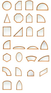 Andersen E-Series Specialty Windows Shapes