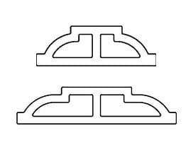 ovolo grille profiles